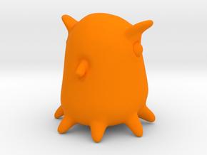 Grimpoteuthis in Orange Processed Versatile Plastic