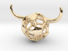 iFTBL Tauros / The One in 14k Gold Plated Brass