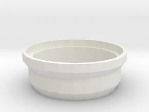 Taranis X9D 36mm Speaker Support in White Natural Versatile Plastic