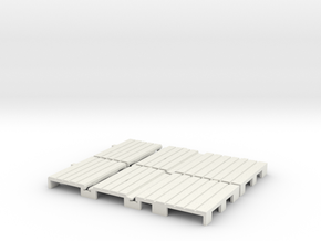 F-165-barrow-crossing-type2-x2-1a in White Natural Versatile Plastic
