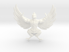 Garuda in White Processed Versatile Plastic