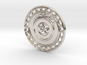 OM Particle Coin in Platinum