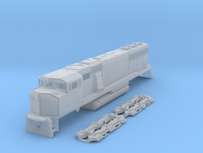 TT Scale SD60m Triclops in Frosted Ultra Detail