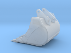 470 Digging Bucket in Smooth Fine Detail Plastic