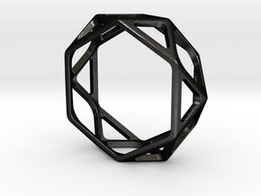Structural Ring size 12,5 in Matte Black Steel