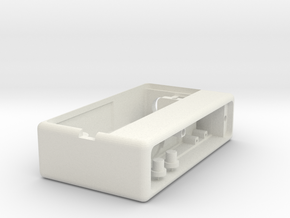 Bottom Feeder Box SX350J (Box, buttons) in White Natural Versatile Plastic