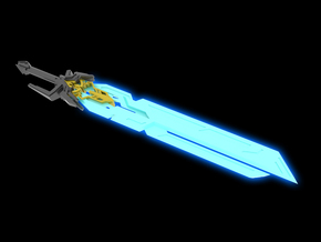 TFP - Celestial Sword in White Natural Versatile Plastic