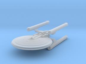 1/2500 - Tessera Explorer Cruiser (solid nacelles) in Smooth Fine Detail Plastic