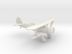 1/144 Henschel HS-123 without spats in White Natural Versatile Plastic