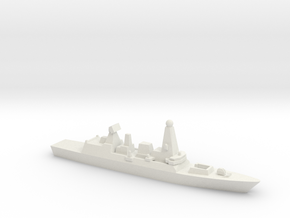 Type 45 DDG, 1/2400 in White Natural Versatile Plastic
