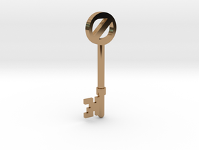 Return To Oz Key in Polished Brass