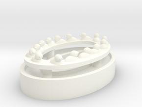 Duckpondlargerducks in White Processed Versatile Plastic