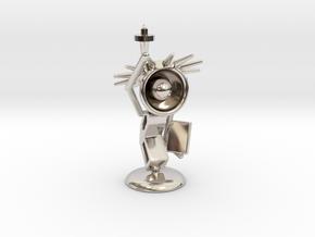 Lala - State of liberty - DeskToys in Platinum