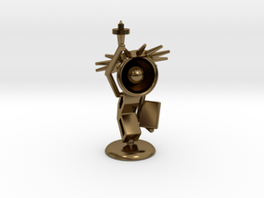 Lala - State of liberty - DeskToys in Polished Bronze