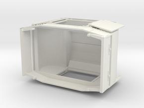 B-1-32-protected-simplex-both-doors-open in White Natural Versatile Plastic