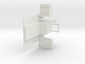 B-1-32-simplex-interior in White Natural Versatile Plastic