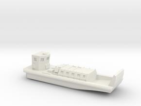 LCVP Mk5 in White Natural Versatile Plastic: 1:700