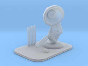 "Lala ""Playing Cricket"" - DeskToys in Smooth Fine Detail Plastic"