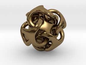 Metatron 12mm Thickened For Polished Silver in Polished Bronze