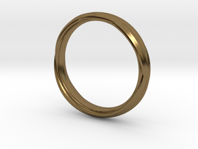 Ring 7c in Polished Bronze