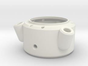 Dalek Gun-stick (pommel, #dg005) in White Natural Versatile Plastic