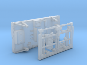 11A-Rear Pallet - Apollo 15 and 16 in Smooth Fine Detail Plastic