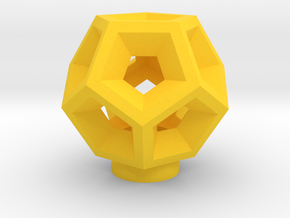 Engram in Yellow Processed Versatile Plastic