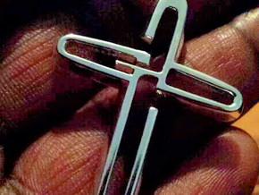 God Cross in Polished Silver