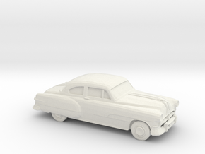 1/75 1951 Pontiac Chieftan Coupe in White Natural Versatile Plastic