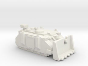 [5] Marine Assault Tank in White Natural Versatile Plastic
