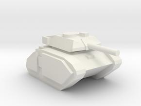 [5] Advanced Main Battle Tank in White Natural Versatile Plastic