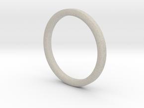 Finger Hula Hoop in Natural Sandstone