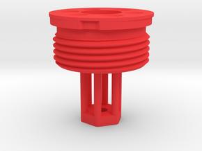 "Core of 1/4"" flogger in Red Processed Versatile Plastic"