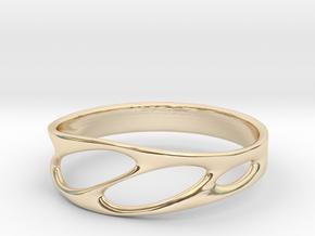 Frohr Design Bracelet Light in 14k Gold Plated Brass
