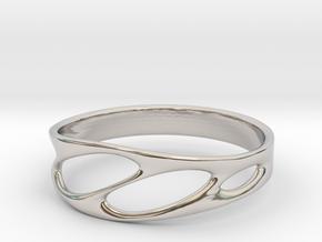 Frohr Design Bracelet Light in Rhodium Plated Brass