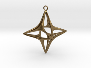 Christmas Star No.1 in Polished Bronze