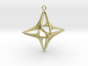 Christmas Star No.1 in 18K Gold Plated