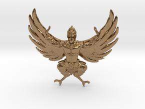 Garuda in Raw Brass