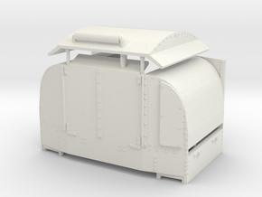B-1-43-protected-simplex-one-door-open in White Natural Versatile Plastic