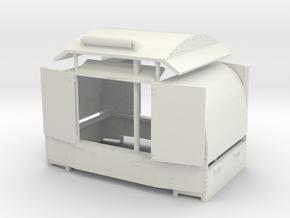 B-1-43-protected-simplex-both-doors-open in White Natural Versatile Plastic