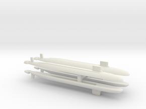 Virginia SSN x 4, 1/2400 in White Natural Versatile Plastic