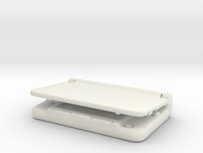 Nintendo 3dsX: mini 1/6 scale in White Strong & Flexible