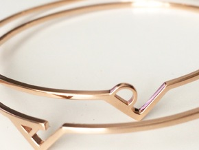 BraceletA in 14k Rose Gold