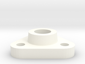 STROODSNOUT flange2 in White Processed Versatile Plastic