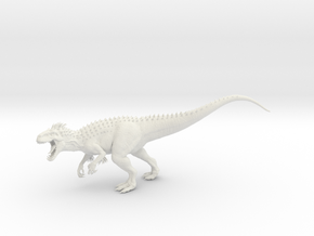 Indominus Rex 1:100 in White Natural Versatile Plastic