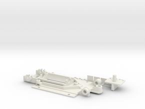 Audi R8 DSlot Typ3 SG in White Natural Versatile Plastic
