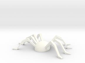 Spider Souvenir in White Processed Versatile Plastic