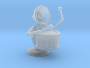 "Lala ""Performing in Drum Band"" - DeskToys in Smooth Fine Detail Plastic"