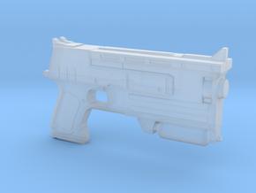 10mm Pistol Pendant in Smooth Fine Detail Plastic