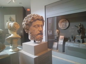 The Head of Marcus Aurelius in White Natural Versatile Plastic
